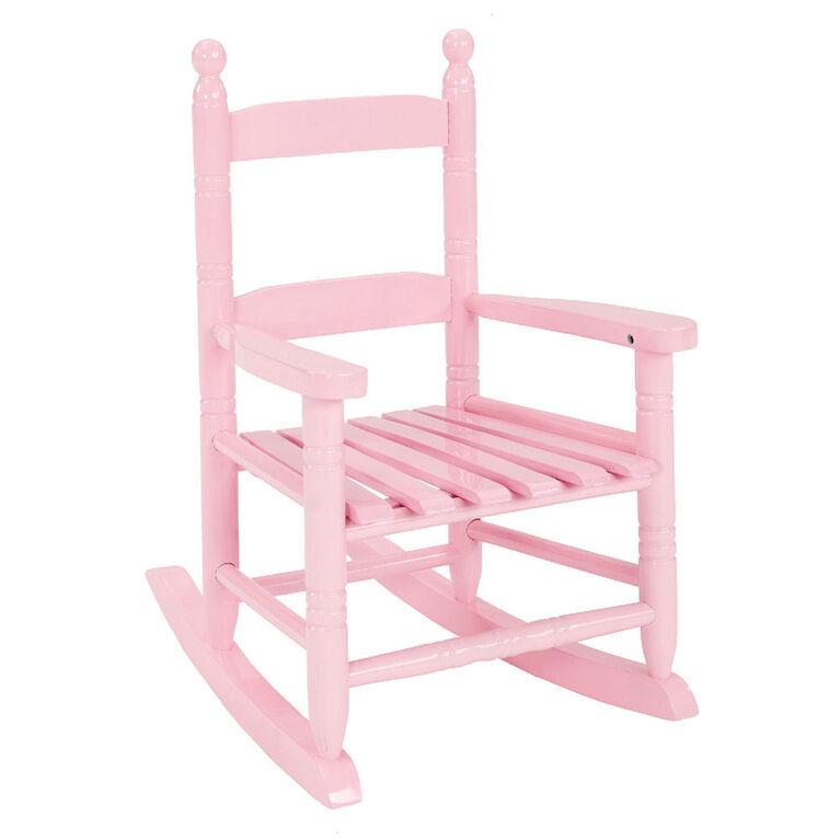 Kids Rocking Chair - Pink