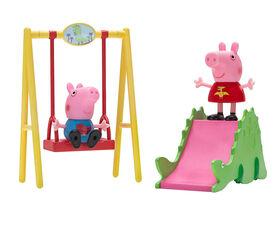 Peppa Pig Playtime Set - Dinosaur Park