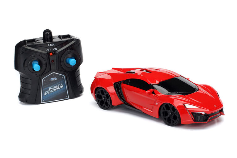 """Fast & Furious 8  7.5"""" RC Vehicle"""