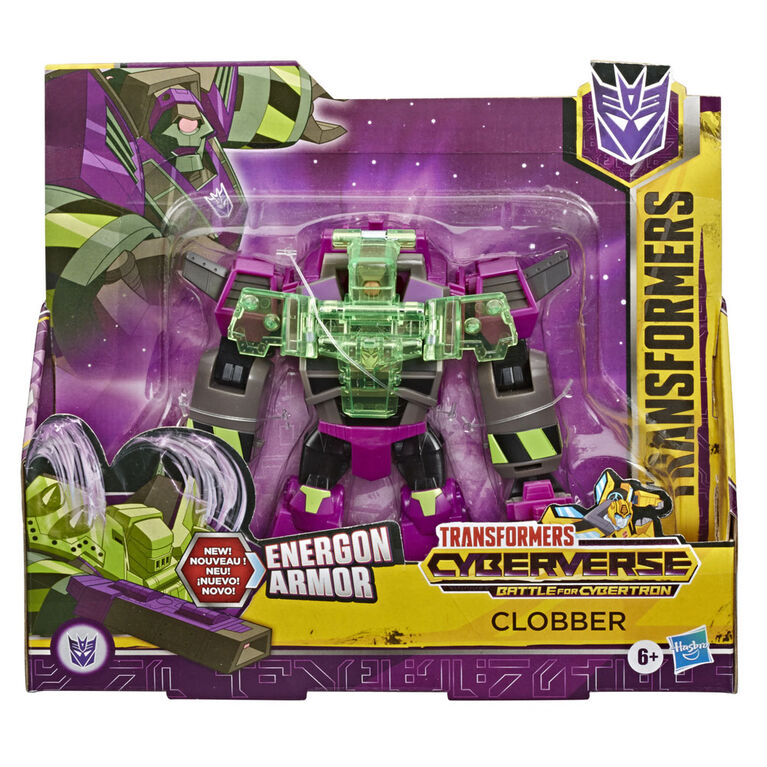 Transformers Toys Cyberverse Ultra Class Clobber Action Figure