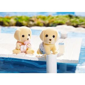 Calico Critters - Yellow Lab Twins