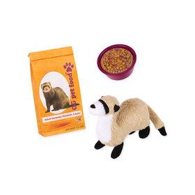 Our Generation, Pet Ferret Set, Plush Pet for 18-inch Dolls