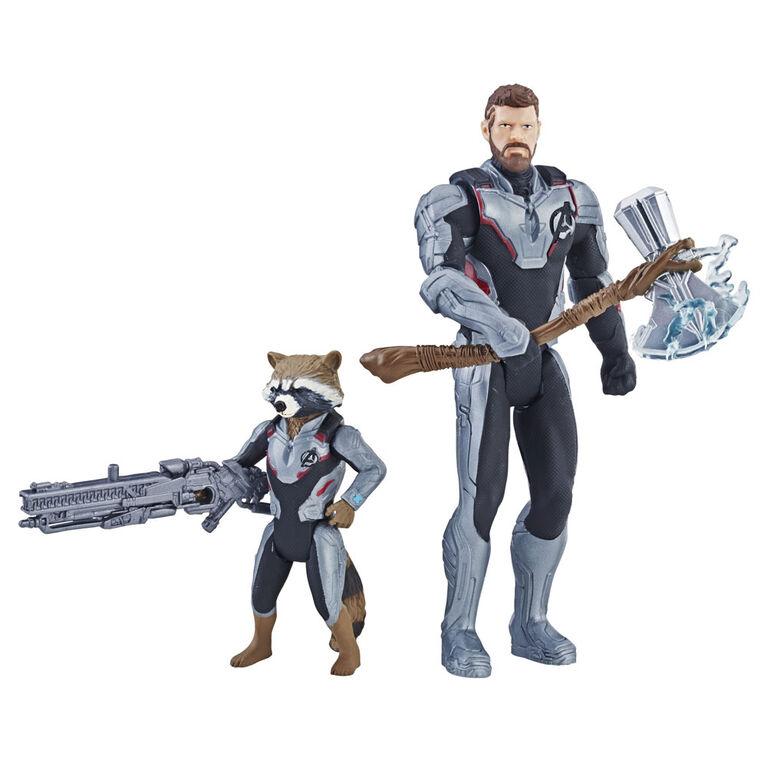Marvel Avengers: Endgame Thor and Rocket Raccoon 2-pack