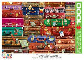 Eurographics Travel Suitcases 1000 Piece Puzzle