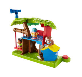 Little People Swing & Share Treehouse - French Edition