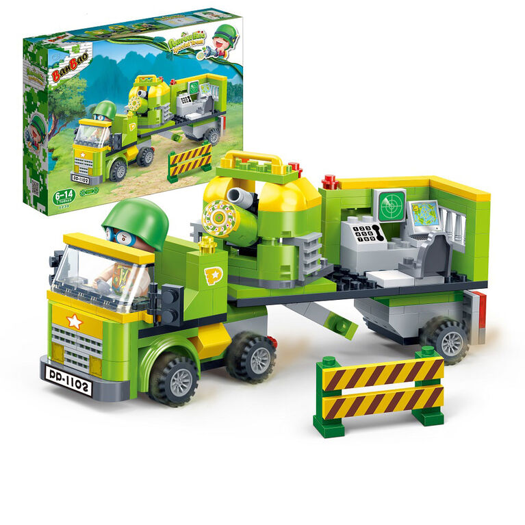 BanBao PowPow Bing Special Team - Military Truck