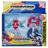 Transformers Cyberverse Warrior Class Action Attackers Optimus Prime and Starscream 2-Pack - R Exclusive