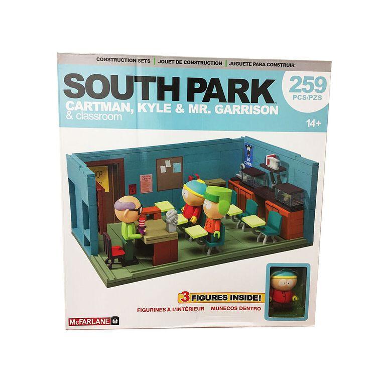 South Park - Cartman, Kyle & Mr. Garrison & classroom
