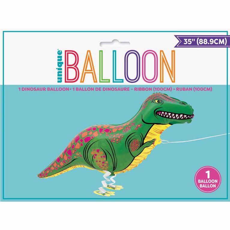 Ballon en aluminium T-Rex