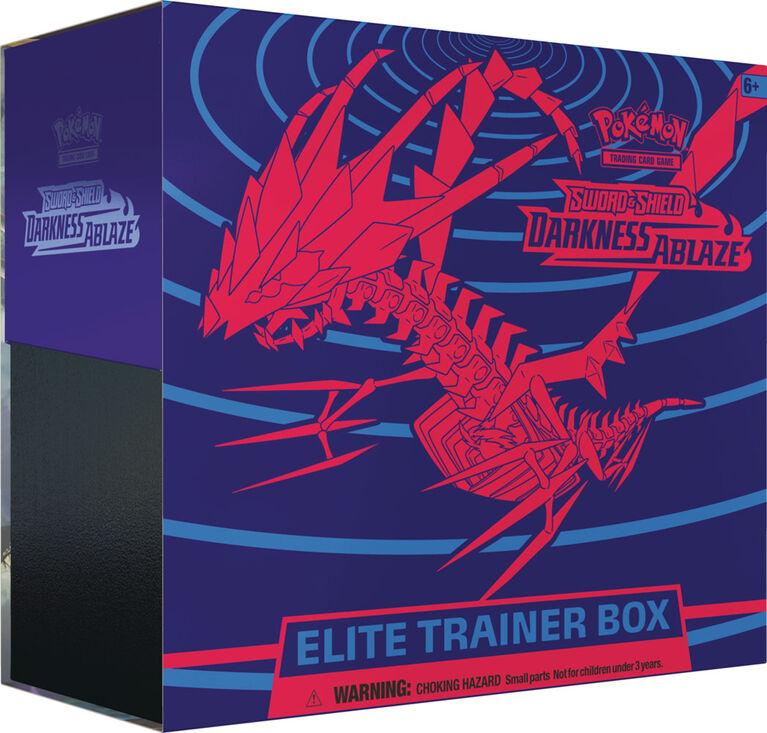 "Pokemon Sword & Shield 3 ""Darkness Ablaze"" Elite Trainer Box"