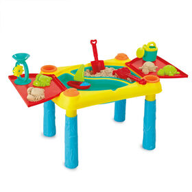 Out and About Deluxe Sand & Water Activity Table - R Exclusive