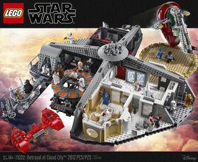 LEGO Star Wars Betrayal at Cloud City 75222