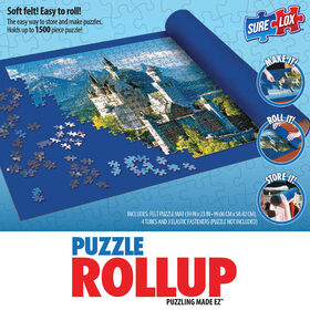 """Sure Lox - Puzzle Roll Up- Blue - 39""""x23"""""""