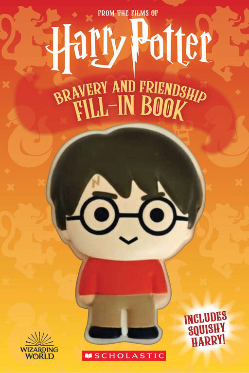 Scholastic - Harry Potter Squishy Activity Book: Bravery and Friendship