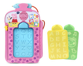 VTech Peppa Pig Scribbles & Sounds Doodle Board - English Edition