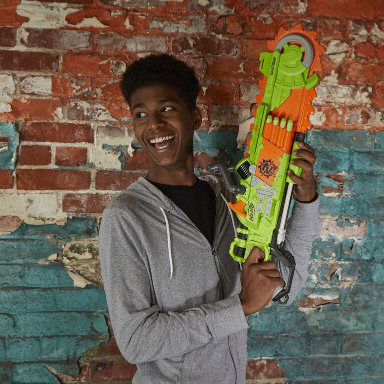 Nerf Zombie Strike Brainsaw Dart-Firing Blaster - R Exclusive