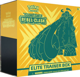 "Pokemon Sword & Shield 2 ""Rebel Clash"" Elite Trainer Box"