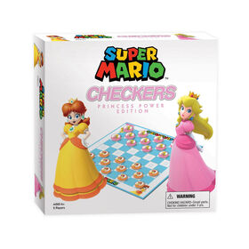 Super Mario Checkers Game Princess Power Edition