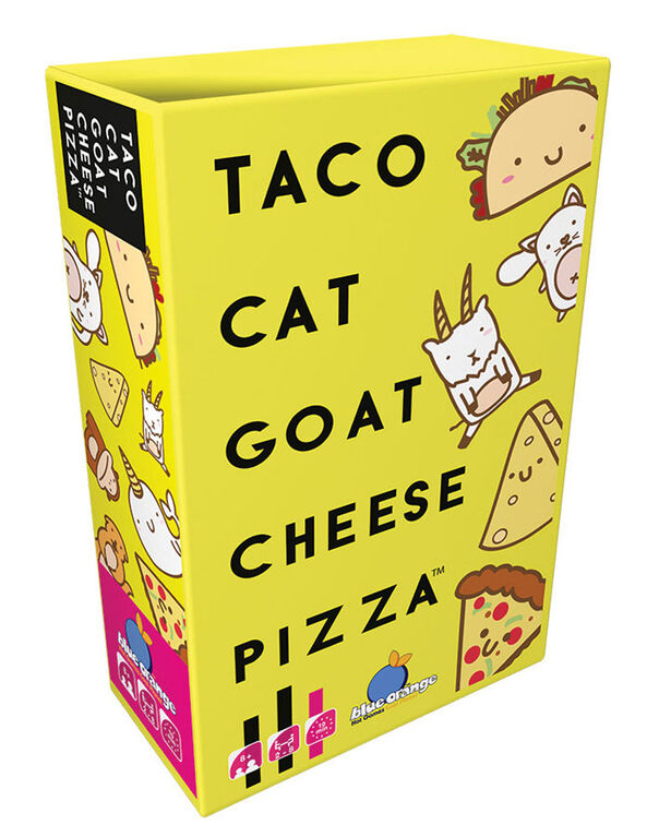 Blue Orange Games  - Taco Cat Goat Cheese Pizza - English Edition