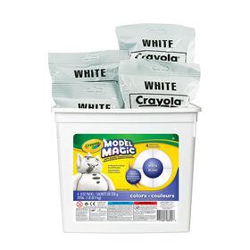 Crayola - Model Magic Bucket, White 2lb