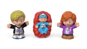 Fisher-Price - Little People - Famille Big Helpers - Rouge