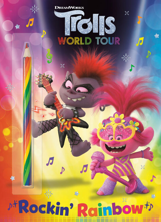 Rockin' Rainbow! (DreamWorks Trolls World Tour) - Édition anglaise