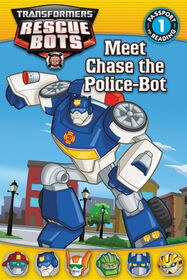 Transformers Rescue Bots: Meet Chase the Police-Bot