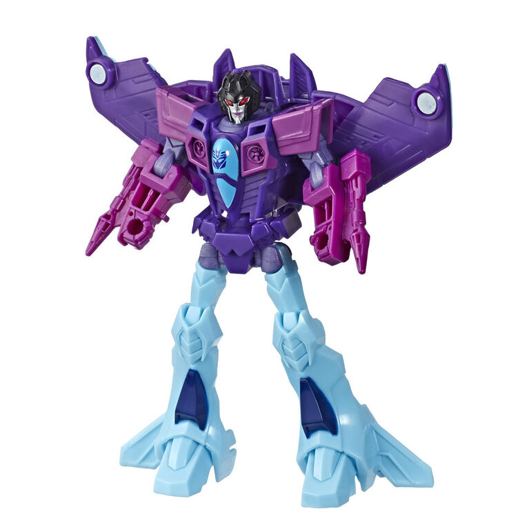 """Transformers Cyberverse classe guerrier, figurine Slipstream"". - Notre Exclusivité"