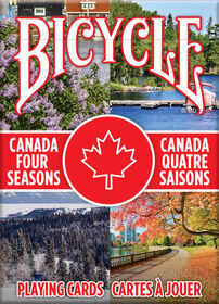 Bicycle Canada Four Seasons Playing Cards
