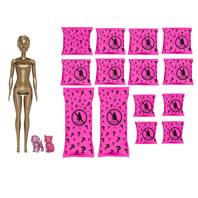 Barbie Day-to-Night Color Reveal Doll with 25 Surprises & Day-to-Night Transformation