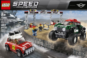 LEGO Speed Champions 1967 Mini Cooper S Rally and 2018 MINI John Cooper Works Buggy 75894
