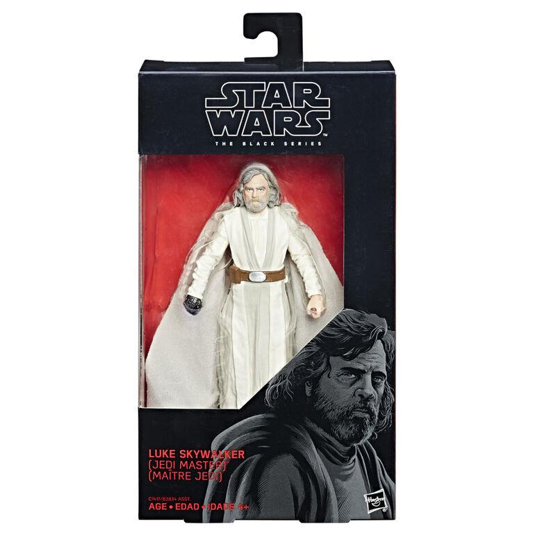 Star Wars Série noire - Figurine de Luke Skywalker (Maître Jedi).