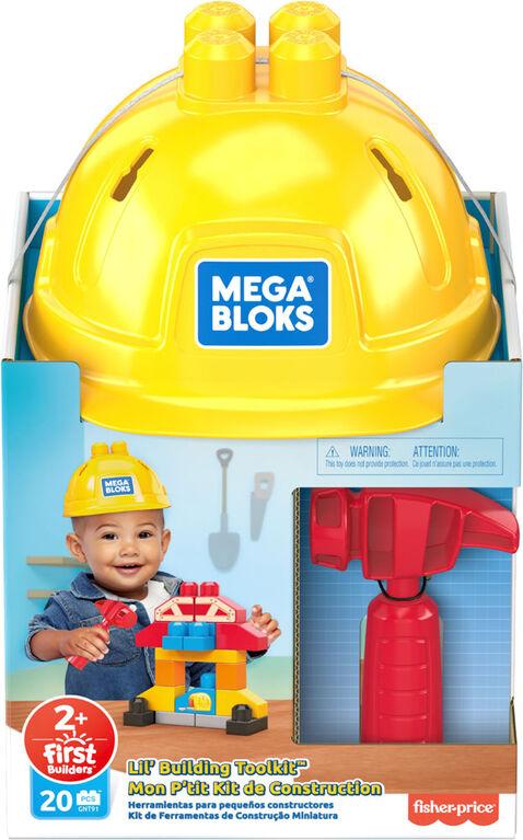 Mega Bloks - Lil' Building Toolkit - Notre exclusivité