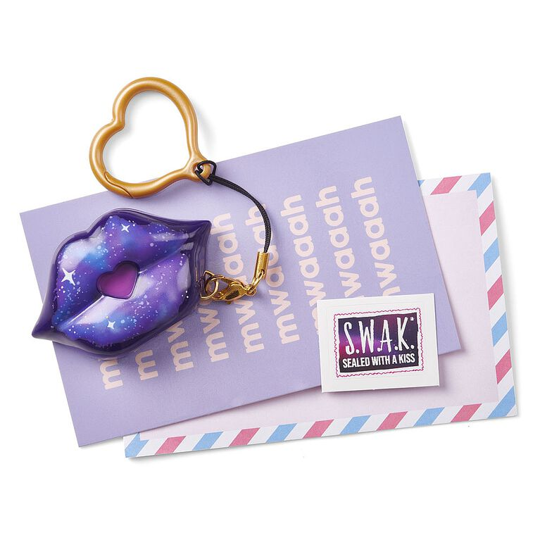 S.W.A.K. - Interactive Kissable Key Chain - Stellar Kiss - By WowWee