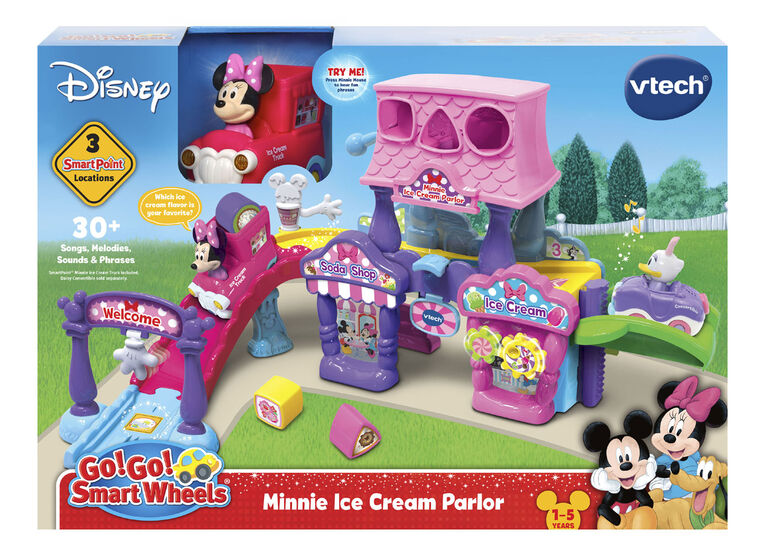 Vtech  Go! Go! Smart Wheels - Disney Minnie Ice Cream Parlor - English Edition