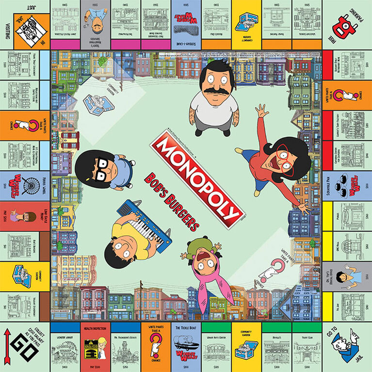 Monopoly Game: Bob's Burgers Edition