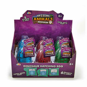 Awesome Animals Dinosaur Hatching Egg - Styles may vary - R Exclusive - English Edition