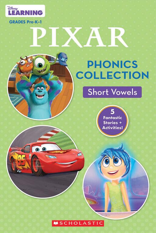 Scholastic - Disney Pixar Phonics Collection: Short Vowels - English Edition