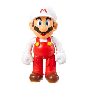 "World of Nintendo 4"" Figures - Mario W/Fire Flower"