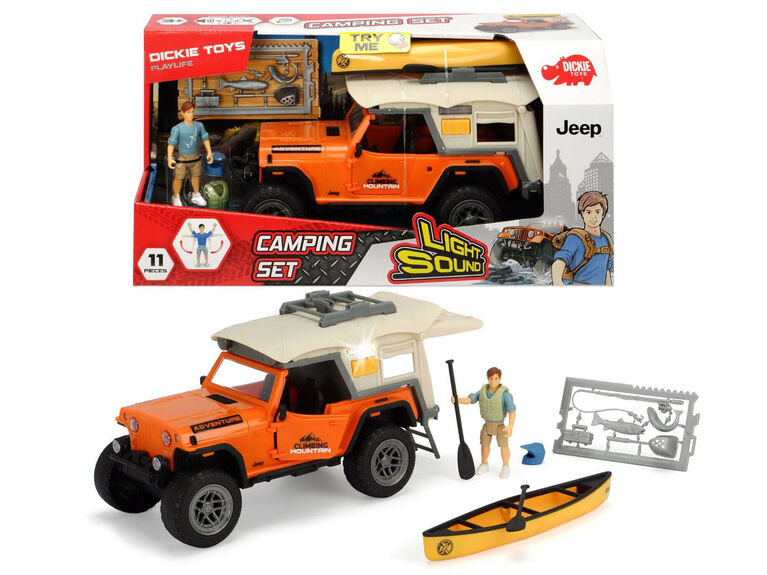 Dickie Toys - Playlife - Camping Set