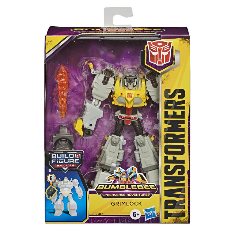 Transformers Bumblebee Cyberverse Adventures Deluxe Class Grimlock Action Figure