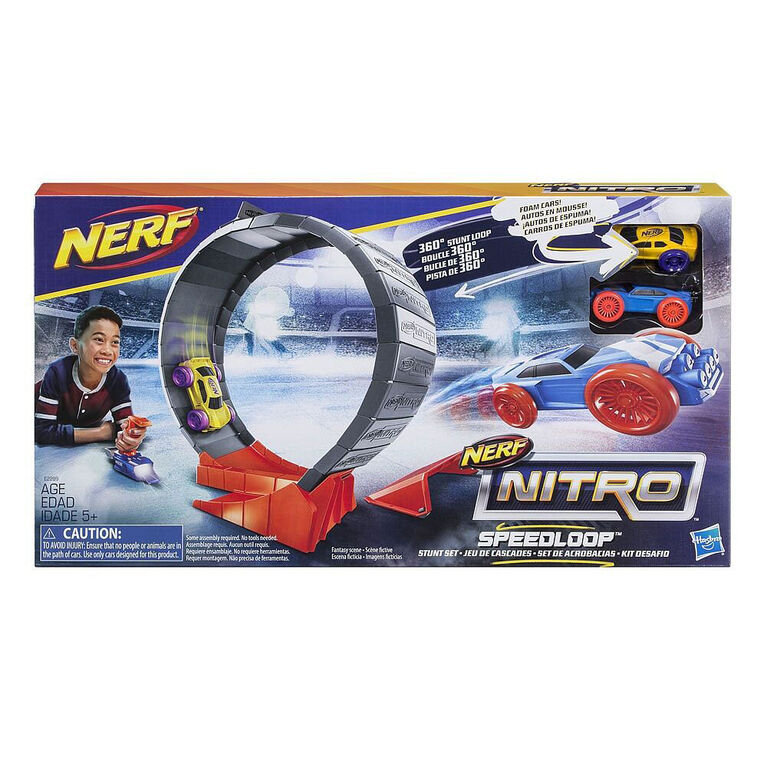 Nerf Nitro - Jeu de cascades Speedloop.