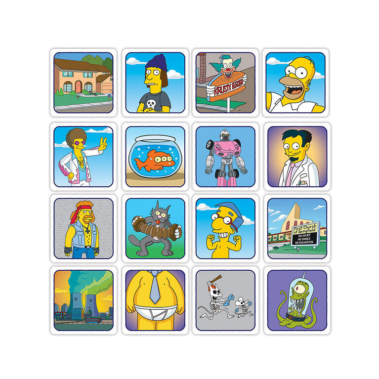 CODENAMES: The Simpsons - Édition anglaise