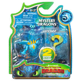 How To Train Your Dragon, Stormfly Mystery Dragons 2-Pack, Collectible Dragon Figures