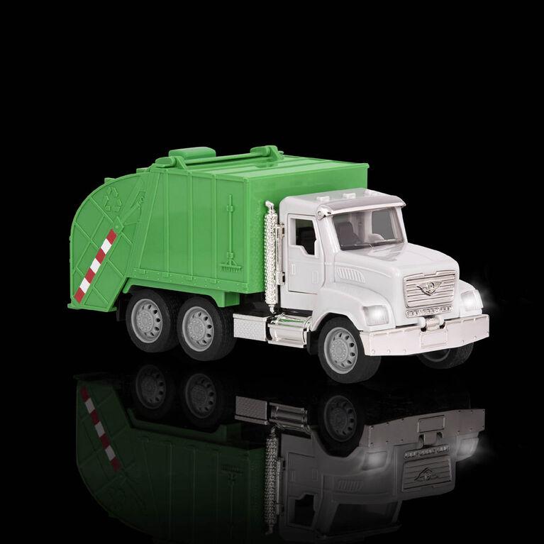Driven, Camion de recyclage avec lumières et sons