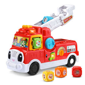 LeapFrog® Tumbling Blocks Fire Truck - English Edition - R Exclusive