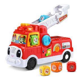 LeapFrog ABC, mon camion SOS pompiers -  Édition anglaise - Notre exclusivité