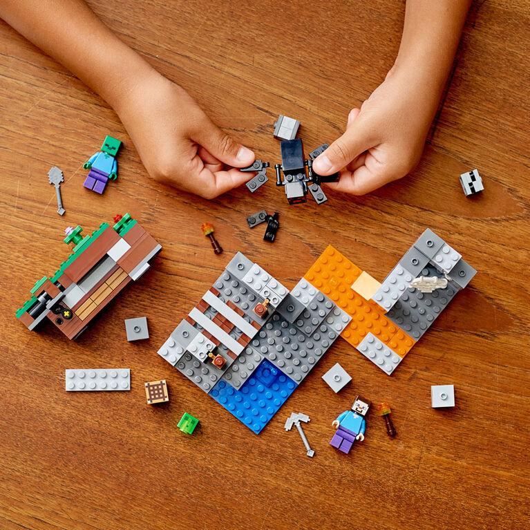 LEGO Minecraft La mine abandonnée 21166