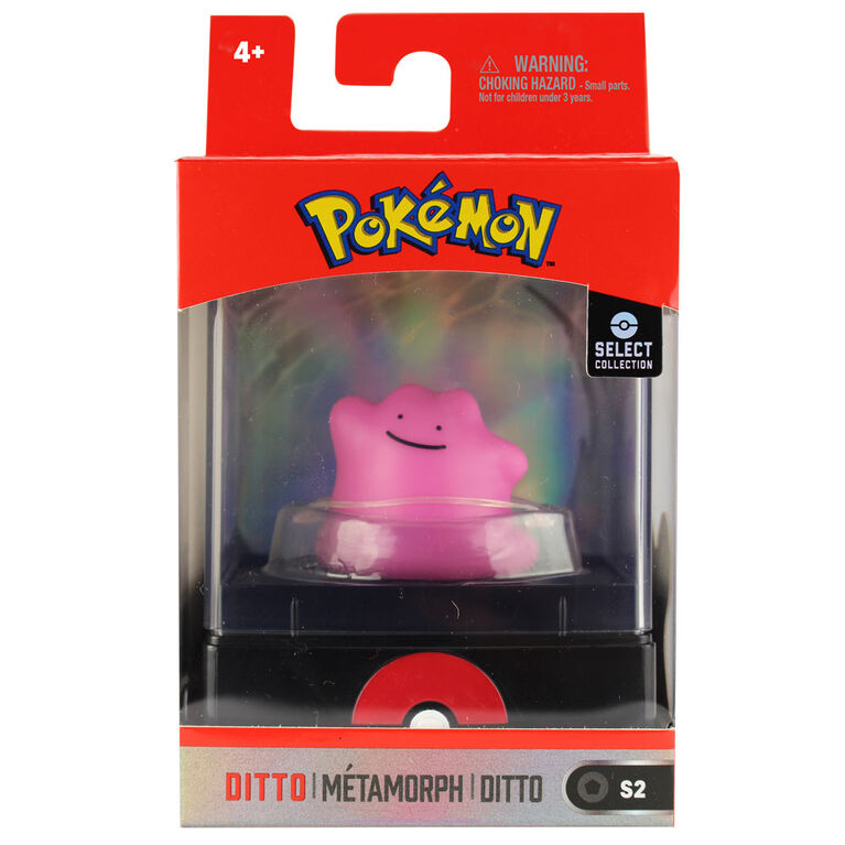 "Pokémon Select 2"" Figure with Case - Ditto"
