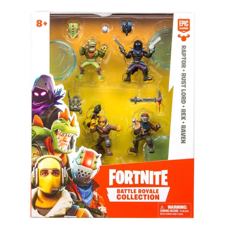 Collection Fortnite Battle Royale: Emballage Équipe.